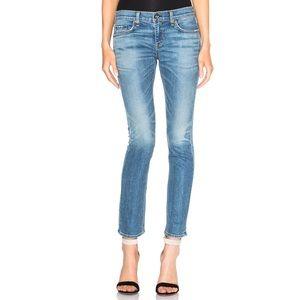 Rag & Bone Tomboy Distressed Denim Jeans